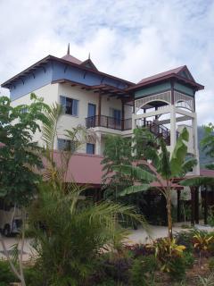 Beautiful seychelles Architechture