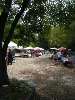 flea market every weekend in season