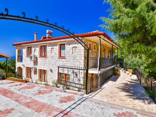 New villa in village, 5 minutes drive from charming town of Kas.