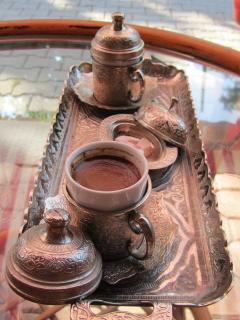 Take time for a Turkish coffee