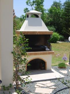 Brick BBQ to make the most of outside dining!