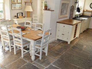 Flagstones, Aga and everything you could need in your dream farmhouse kitchen!