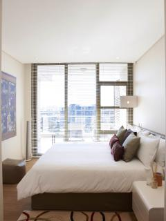 Main Bedroom with fabulous view of Marina and Canal