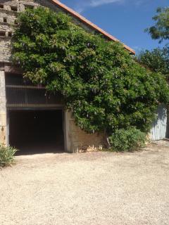 La grange avec son garage