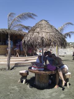 Beach bar less than 200m