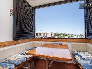 Lux. Apt. - view of the marina, Cervar Porat