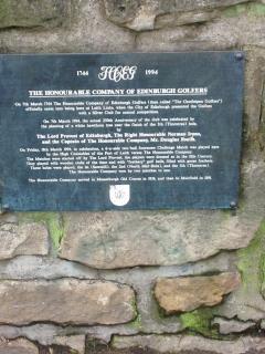 The Honourable Company of Edinburgh Golfers