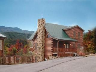 Cabin in between Gatlinburg and Pigeon Forge Buck Naked Lodge 327, Sevierville
