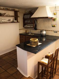Cocina villa Roque del Oeste