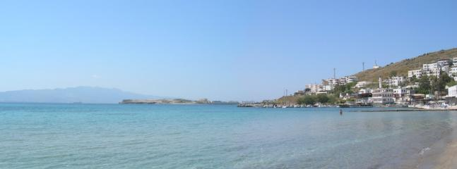 Akyarlar Beach with Kos in the distance