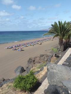 Playa Grande, one of Puerto del Carmen's extensive beaches