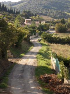 Edge of the village of Preixan