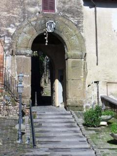 Entrata centro storico Sacrofano