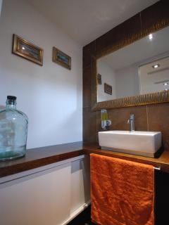 Sanitary facilities at ground floor area