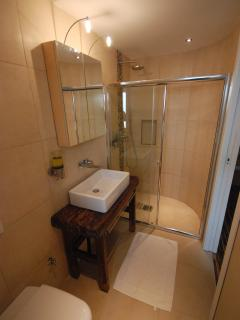 Ensuite shower room with bedroom at first floor level