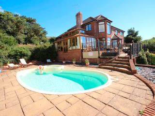 Large private home, sleeps 12 with Outdoor Heated Swimming Pool & Views!