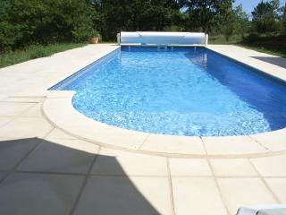 The private 10m x 4m swimming pool at your disposal