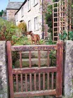 Gate to Vicarage Cottage