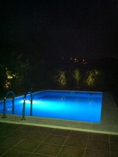 Nightview on the pool