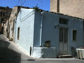 Casa Azzurra, a traditional renovated stone built town house.