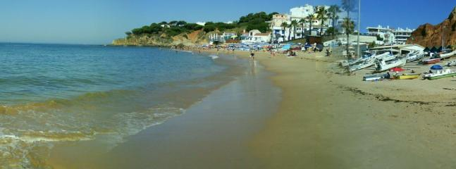 Beach at Olhos d'Agua