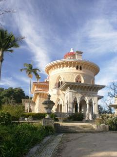 Sintra World Heritage site: Monserrate Palace and gardens, just a short drive away