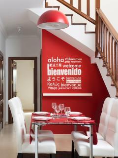 inviting dining area Casa Laura