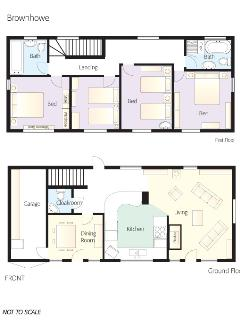 Brown Howe - Floor Plan