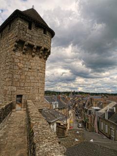 View from the Medieval La Porte Saint-Jean in La Souterraine