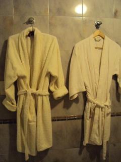 bathrobes in grand bath