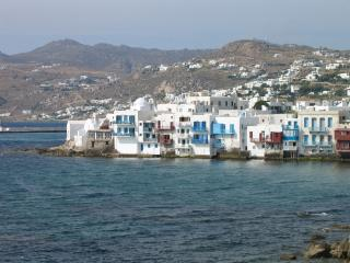 The Red House, Mykonos-Stad