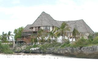VILLA FROM BEACH