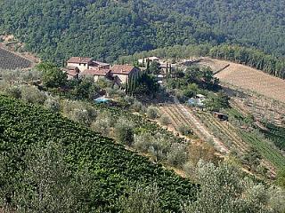 Casa Refolo B, Gaiole in Chianti
