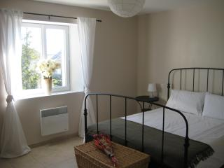 2 large double bedrooms with brand new kingsize beds, wardrobes, mirrors, lamps and stunning views -