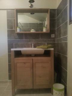 Salle de bain refait à neuf