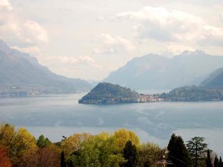 Incantevole vista sul centro lago