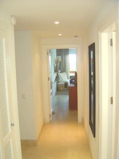 Corridor leading to master bedroom