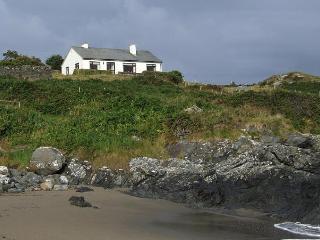 Dún Marie from the beach