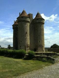 castle at Sarzay