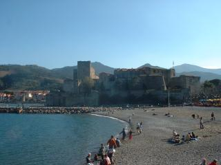 Beautiful balcony view of Collioure