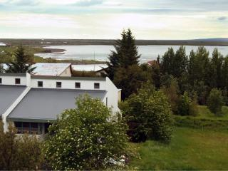 Modern house in beautiful setting, Selfoss