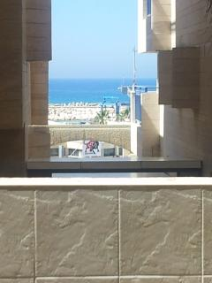 Sea view from balcony