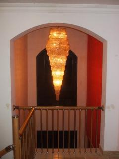 Chandelier Hallway & Entrance