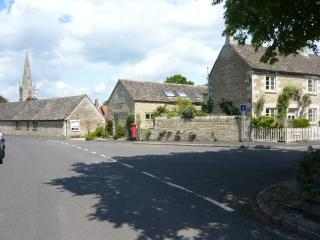 The cottage is set in the heart of the village