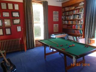 Library - books / games / pool / table football