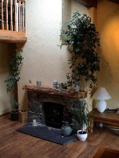 Beudy Mawr fireplace