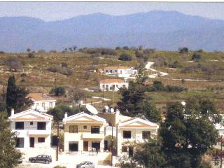 View of Villa from village