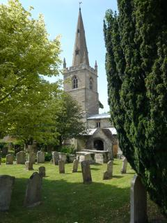 The church of St Mary the Virgin, Edith Weston