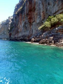 Nearby secluded bay