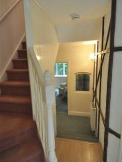 Hallway and stairs (before gate was fitted)